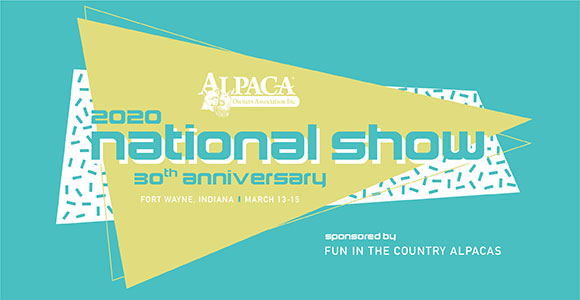 AOA National Alpaca Show sponsored by Fun in the Country Alpacas