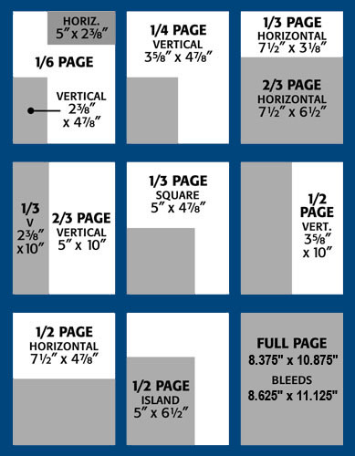 Alpacas Magazine Ad Sizes