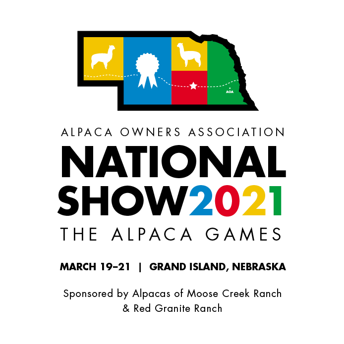 2021 AOA National Alpaca Show sponsored by Alpacas of Moose Creek Ranch and Red Granite Ranch