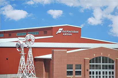 Five Points Bank Arena at Fonner Park